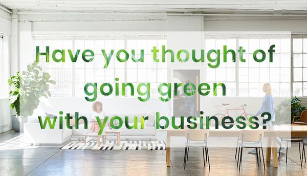 It's Time For Business To Go Green